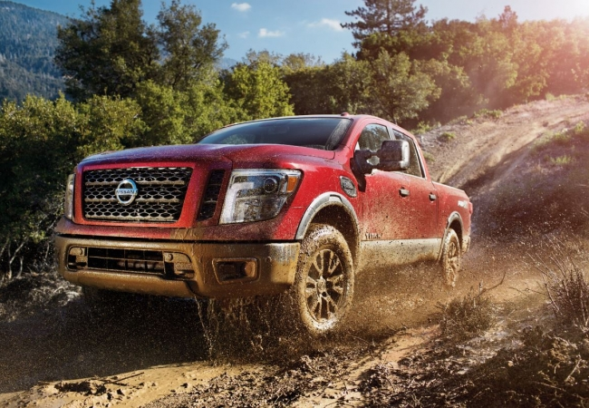 Nissan Titans available in Hazelwood, MO at Bommarito Nissan of Hazelwood