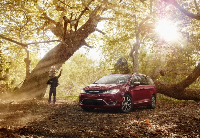 Chrysler Pacificas available in Bellefontaine, OH at MIG Chrysler Dodge Jeep Ram