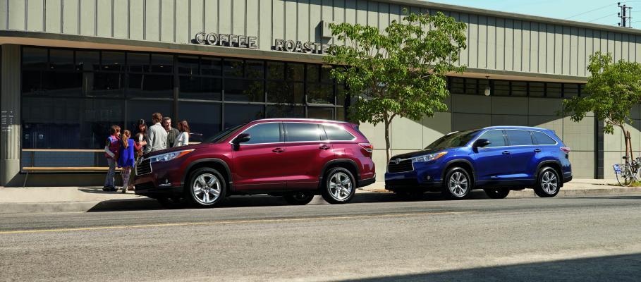Highlander Vs 4Runner >> Toyota Highlander Vs Toyota 4runner Basil Toyota