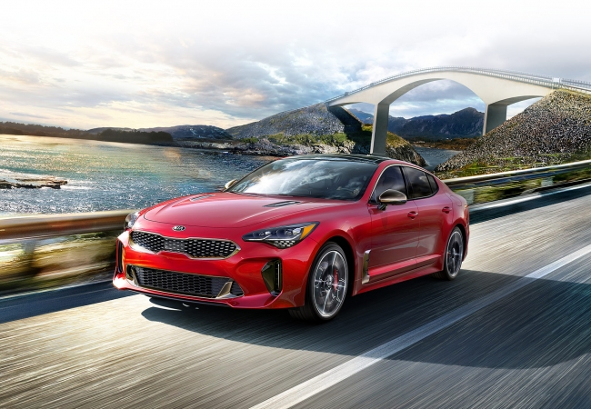 Kia Stingers available in Burns Harbor, IN at Bosak Kia